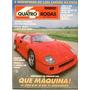 4rodas N.365 Dez 90 - Ferrari F40, Xr3, Lada Samara, Uno....