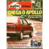 4rodas N.359 Jun 90 - Apollo, Kadett Gs, Xr3, Gol....
