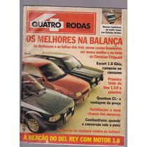 Revista Quatro Rodas Numero 349 - Ano 1989 - Editora Abril