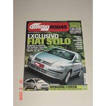 * Revista Quatro Rodas - Fiat Stilo *