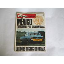 Quatro Rodas 96-teste Rural-mexicanos/americ.68-testes Opala