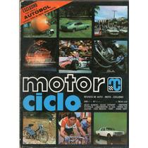 Revista Motor Ciclo Ano 1 N°1 Honda 750 Kart Ciclismo R407