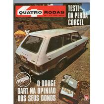 Revista 4 Quatro Rodas 116 Março 1970 Dodge Dart Perua R407