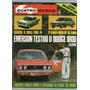 Revista 4 Quatro Rodas 152 Março 1973 Opala Dodge 1800 R407