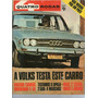 Revista 4 Quatro Rodas N°130 Maio 1971 Opala 2500 Teste R404