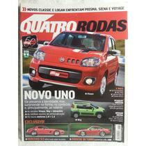 Quatro Rodas 604 Mai/10 Uno/ Gol/ Hoggar/ Lancer Evo/ Fiesta