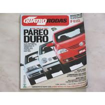 Revista Quatro Rodas 520 - Fox Polo Gol Palio Volvo Audi