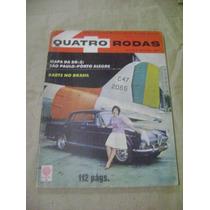 Quatro Rodas 9 Abril 1961 Karts No Brasil Editora Abril