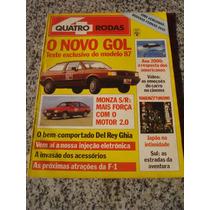 Revista Quatro Rodas Monza Sr 2.0 Del Rey Gol Fusca