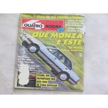 Revista Quatro Rodas 367 Fevereiro 1991 - Monza Volvo Gol