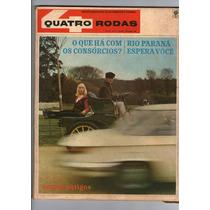 Revista 4 Quatro Rodas N°75 Outubro 1966 Carros Antigos R416