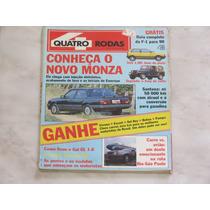 Revista Quatro Rodas 355 Fevereiro 1990 - Santana Monza Gol