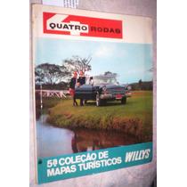 Revista Quatro Rodas Jeep 5ª Coleção Mapas