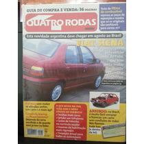 Revista Quatro Rodas 443 Jun/97 Siena Gol-1000 Consórcio...