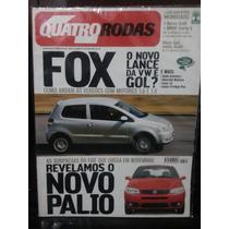 Quatro Rodas 519 Out/03 Fox/ Palio/ Gol/ Golf/ Doblô/ Focus