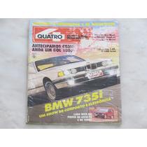 Revista Quatro Rodas 366 Janeiro 1991 - Bmw Gol Lada Niva