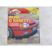 Revista Quatro Rodas 344 Março 1989 - Belina Gol Kadett