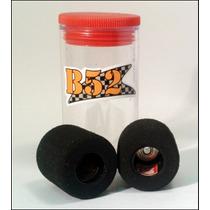 Autorama Pneu Traseiro B52 Fish Rubber 10mm Nylon 3/32 Bolha