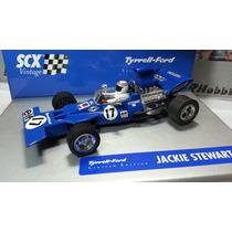 Autorama Scx F1 Vintage Team Tyrrel 001 Jackie Stewart 1971