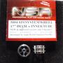 Autorama Nsr 5004 Roda Traseira Alum 3/32 17 Dia Air System