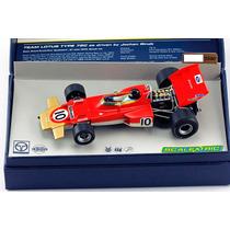 Autorama Scalextric Lotus 72 Classic F1 Jochen Rindt 1970