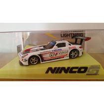 Autorama Mercedes Sls Gt3 Ninco Lightning Prorace Zerado!!!
