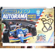 Autorama Formula Tyco Monte Carlo Barrichello