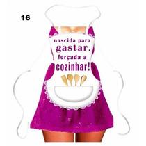 Avental Divertido Mulher Vestido Leleco Aventais Churrasco