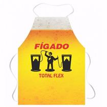 Avental Divertido Total Flex Cerveja Leleco Churrasco
