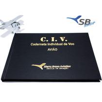 Civ Caderneta Individual De Voo Avião Luxo Sierra Bravo