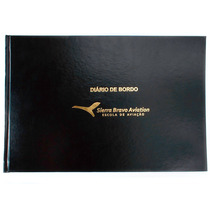 Diário De Bordo Para Aeronaves Luxo Sierra Bravo Aviation