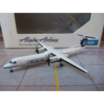 Avião Q400 Dash 8 Alaska Airlines 1:500 Miniatura Herpa Wing