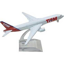 Avião Tam Metal Boeing 777 16cm