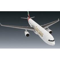 Maravilhosa Maquete De Papel Aeronave Emirates Para Montar!!