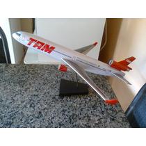 Avião Da Tam De Resina [md11]