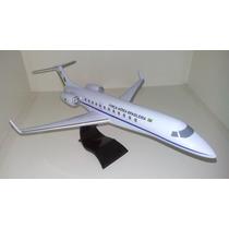 Maquete Em Resina Avião Legacy 600 - Fab