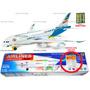 Avião Airbus A380 Musical Bate Volta Iluminação Dinossauro