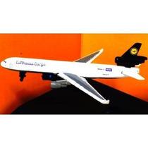 Avião Lufthansa Mcdonnell Douglas Md-11 New Ray 1/850