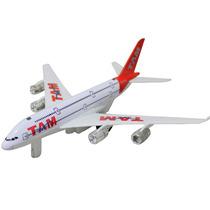 Mini Avião A Fricção Tam