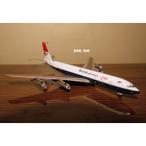 Avião Boeing 707 British Airways Aviation400 1:400