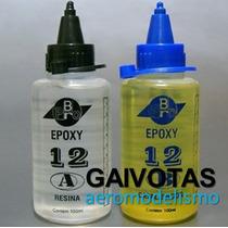 Cola Epoxy Pro-br Cura De 12 Min. C/ 200ml