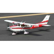 Planta Cessna 182 Em Balsa Bem Detalhada