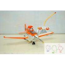 Avião De Controle - Avião Dusty Com Controle Remoto Com Som
