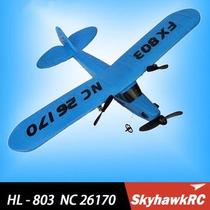 Rc Hl803 Avião Completo Frete Gratis