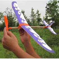 Aviao Movido A Elastico Kit Monte Em Casa - Aeromodelismo