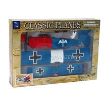 Kit Montar Avião Fokker D.vii Biplano New Ray 1:48 3427-4
