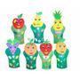 Fantoches Frutas 7 Personagens Eva 40 A 47 Cm Carlu