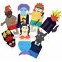 Fantoches Folclore Brasileiro 7 Personagens Eva Carlu