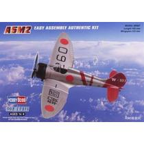 Modelo Plane - Hobbyboss A5m2 Zero 1:72 Kit De Plástico