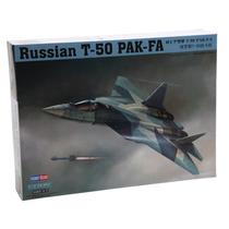 Modelo Plane - Russo T-50 Pak-fa 1:72 Hobbyboss Plástico